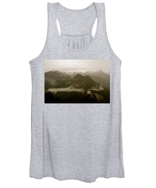 Whispers In The Andes Mountains Women's Tank Top