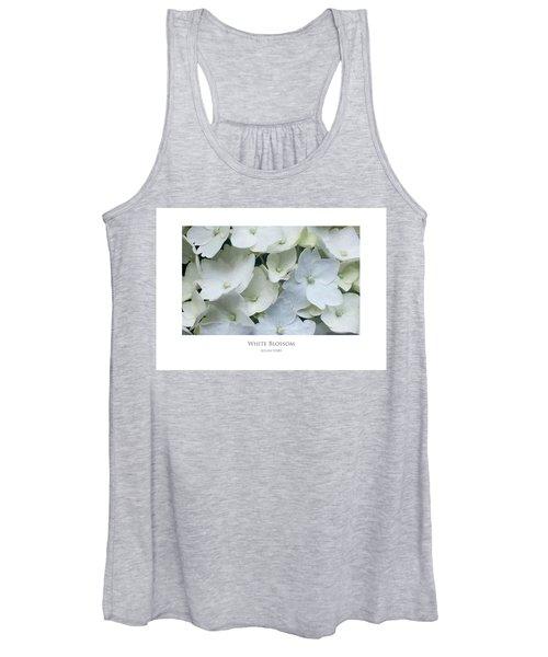 White Blossom Women's Tank Top