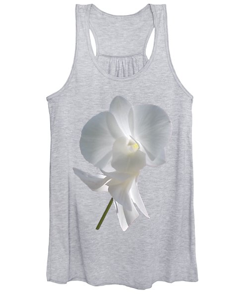 White Orchid Women's Tank Top