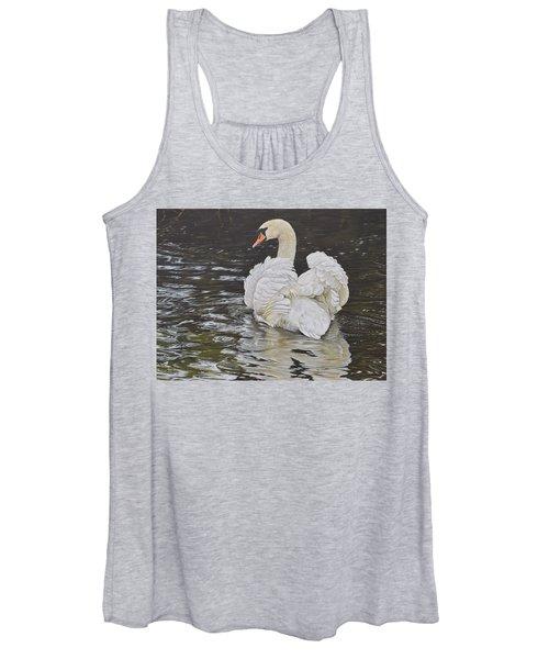 White Swan Women's Tank Top