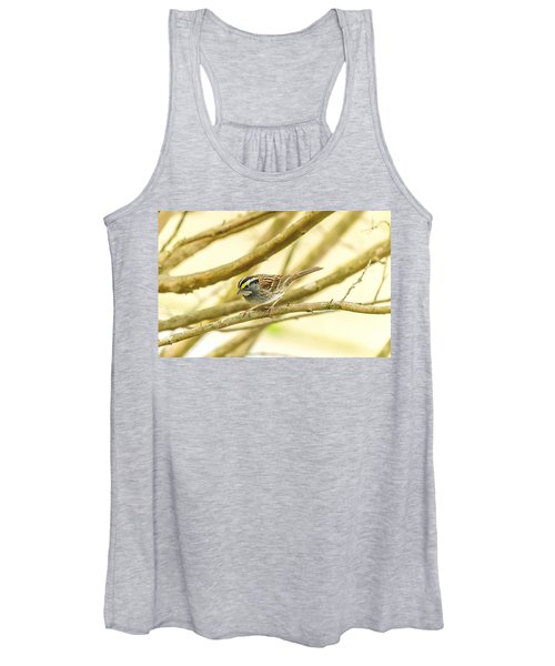 White Throated Sparrow Women's Tank Top