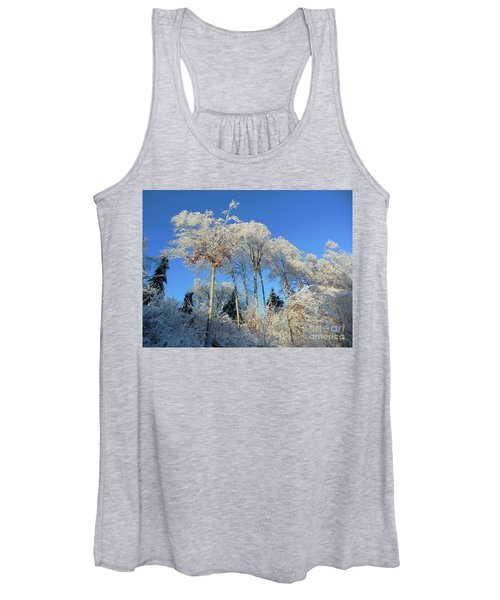 White Trees Clear Skies Women's Tank Top