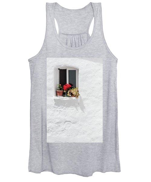 White Window Women's Tank Top
