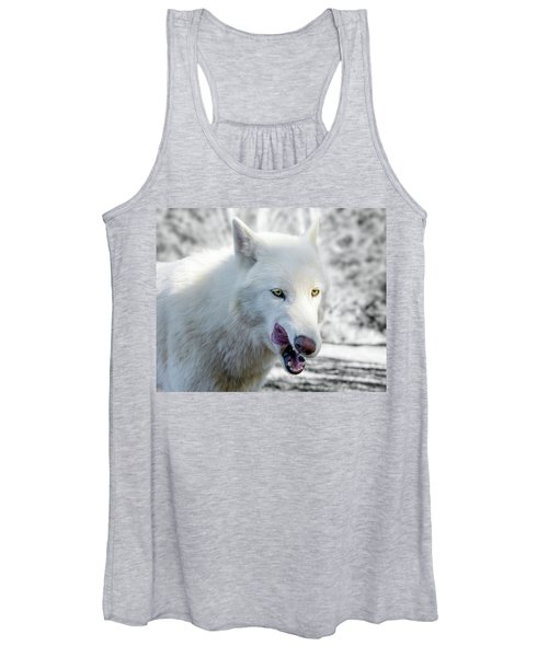 White Wolf Women's Tank Top