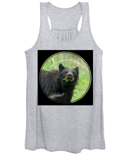 Who Said Vegans Are Not Strong Women's Tank Top