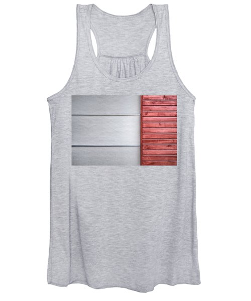 Wide And Narrow Lines Women's Tank Top