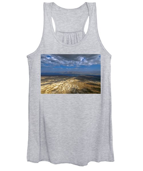 Wide View From Masada Women's Tank Top