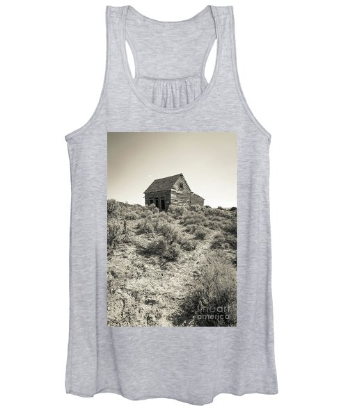 Widtsoe Utah Ghost Town Women's Tank Top