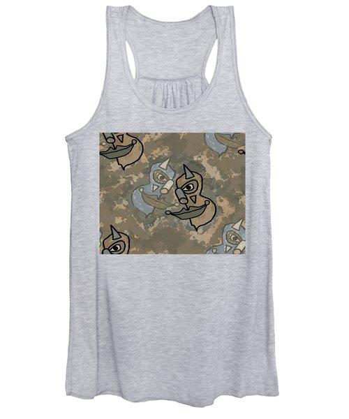 Wild Clown Women's Tank Top