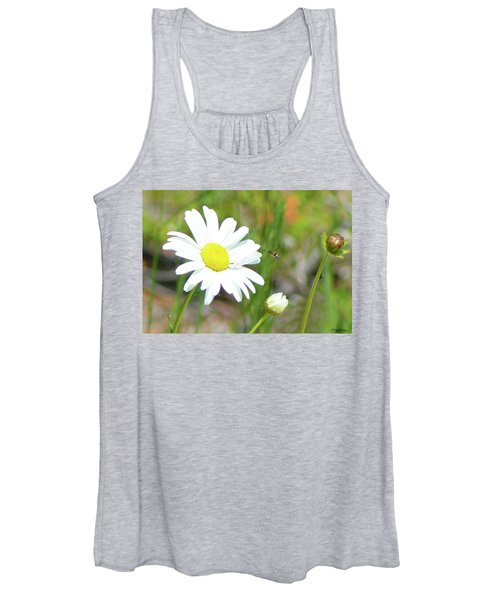 Wild Daisy With Visitor Women's Tank Top