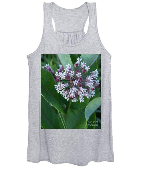 Wild Flower Star Burst Women's Tank Top