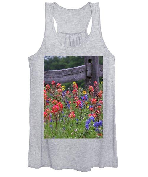Wild Flowers Women's Tank Top
