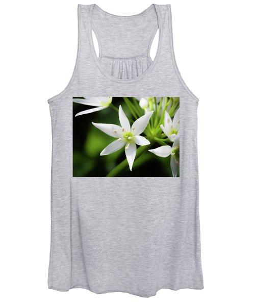 Wild Garlic Flower Women's Tank Top