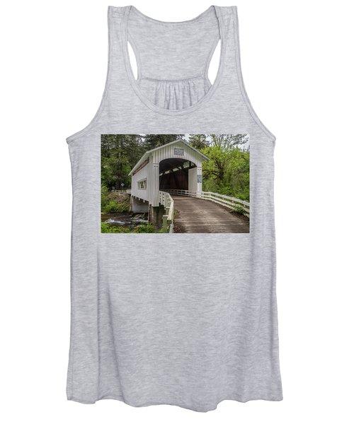 Wildcat Creek Bridge No. 1 Women's Tank Top