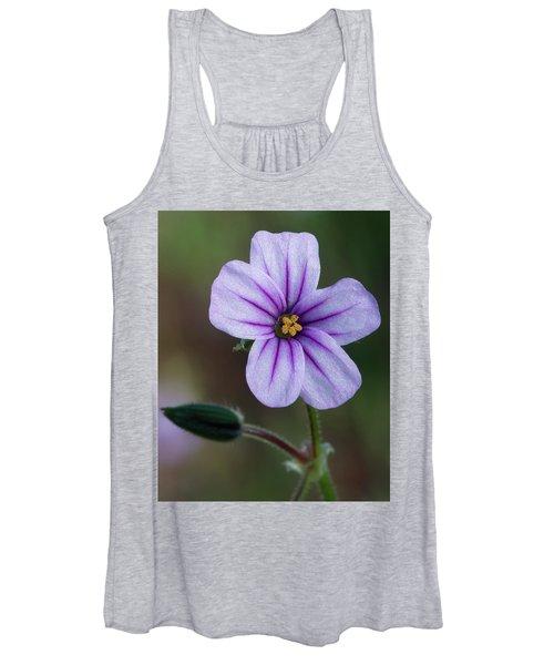 Wilderness Flower 3 Women's Tank Top
