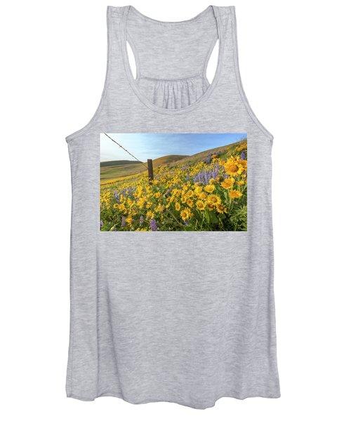 Wildflower Bonanza Women's Tank Top