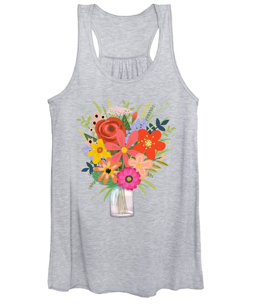 Wildflower Bouquet Women's Tank Top