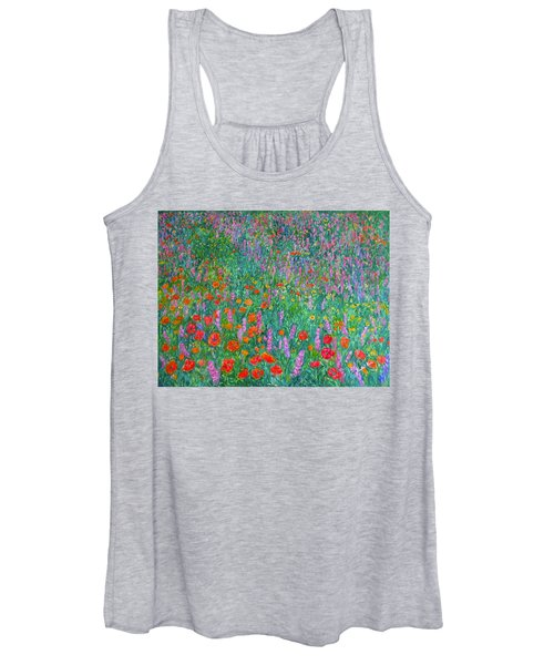 Wildflower Current Women's Tank Top