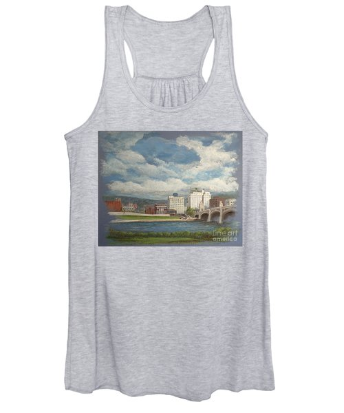 Wilkes-barre And River Women's Tank Top