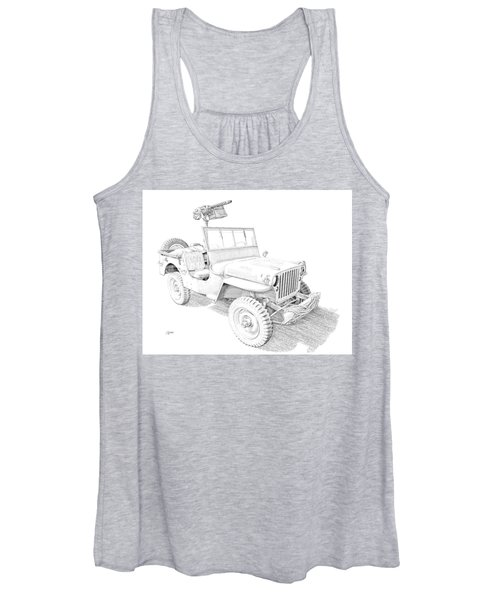 Willy In Ink Women's Tank Top