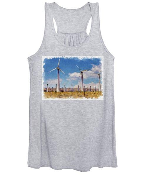 Wind Power Women's Tank Top