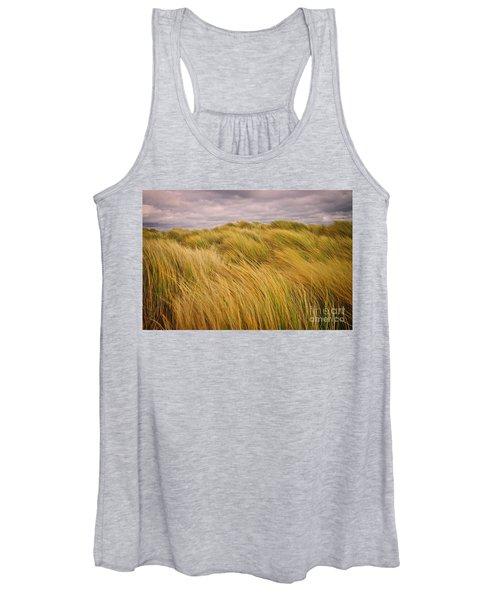 windswept Grasses Women's Tank Top