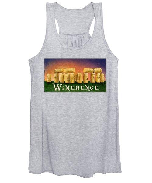 Winehenge Women's Tank Top