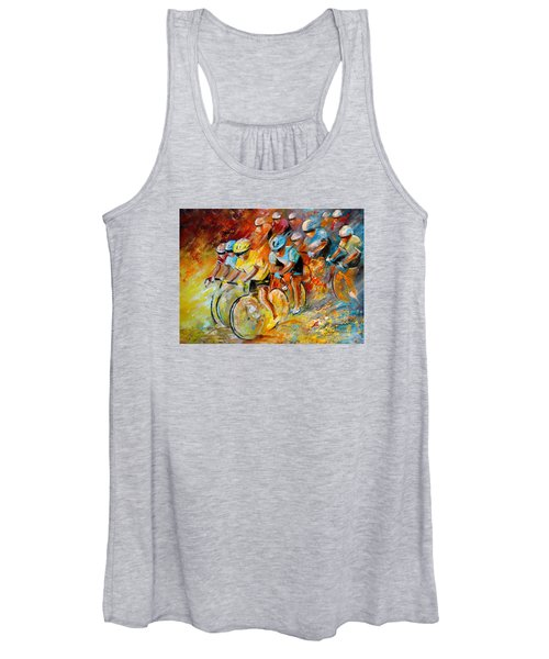 Winning The Tour De France Women's Tank Top