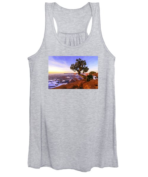 Winter At Dead Horse Women's Tank Top