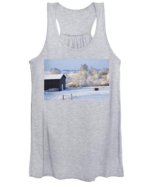 Winter Barn 1 Women's Tank Top