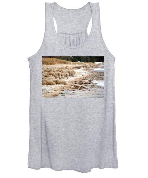 Winter Beach Women's Tank Top