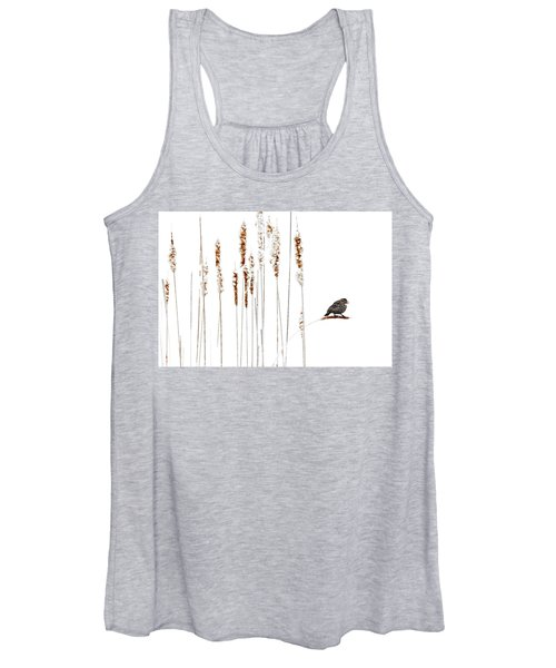 Winter Came Suddenly Women's Tank Top