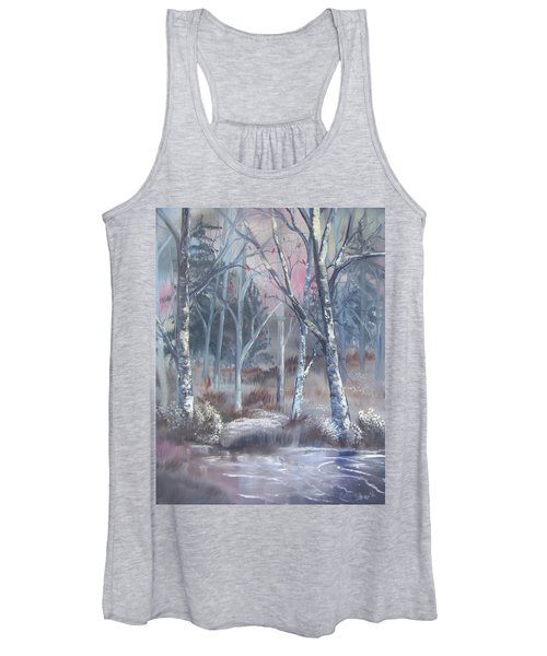Winter Cardinals Women's Tank Top
