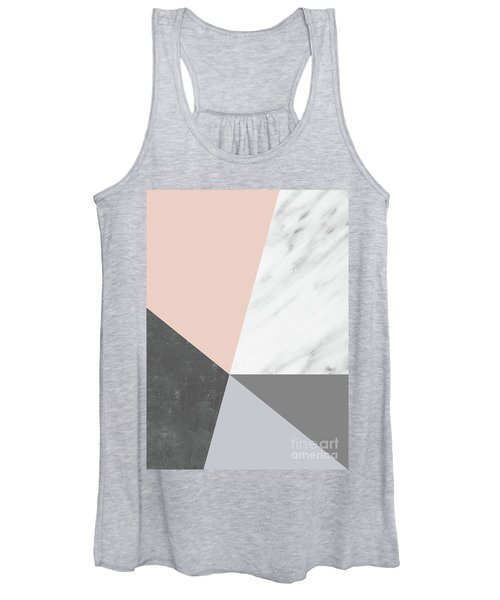 Winter Colors Collage Women's Tank Top