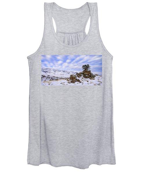 Winter Desert Women's Tank Top