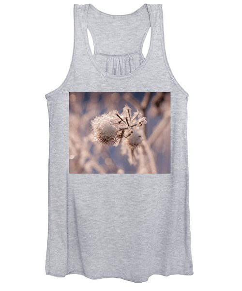 Winter Frost Women's Tank Top