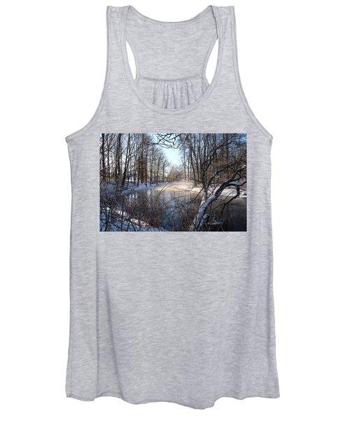 Winter Frost Women's Tank Top