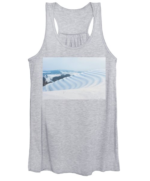 Winter Lines Women's Tank Top