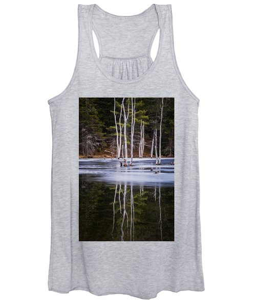 Winter Thaw Relections Women's Tank Top