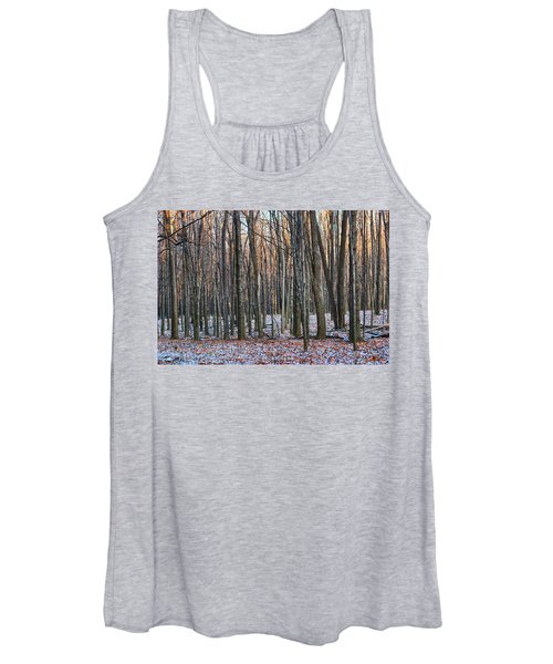 Winter - Uw Arboretum Madison Wisconsin Women's Tank Top