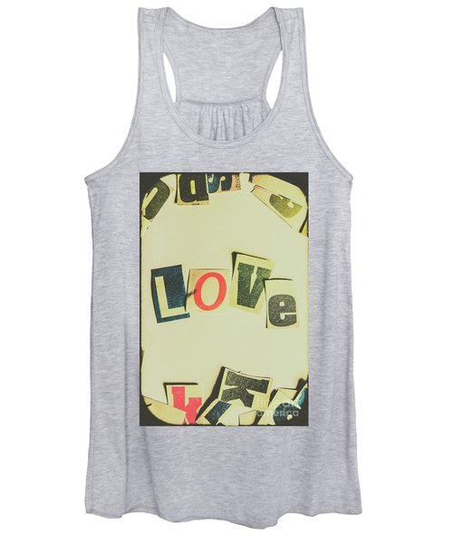 Wisest Word Of Them All Women's Tank Top