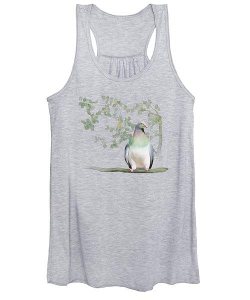 Wood Pigeon Women's Tank Top