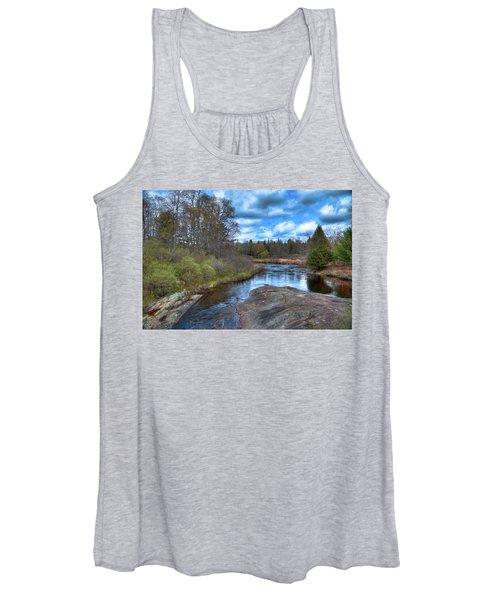 Woodhull Creek In May Women's Tank Top