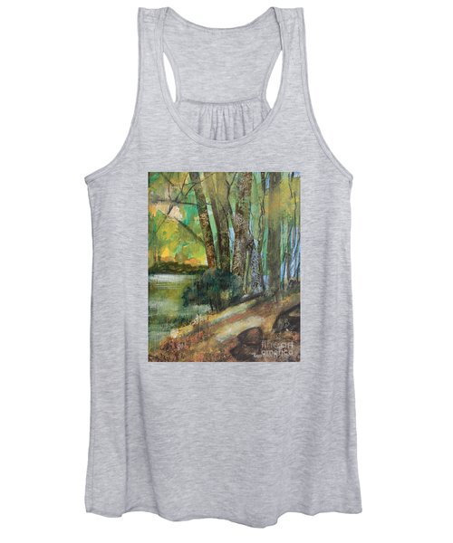 Woods In The Afternoon Women's Tank Top