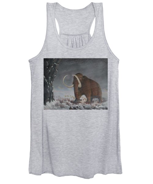 Wooly Mammoth......10,000 Years Ago Women's Tank Top