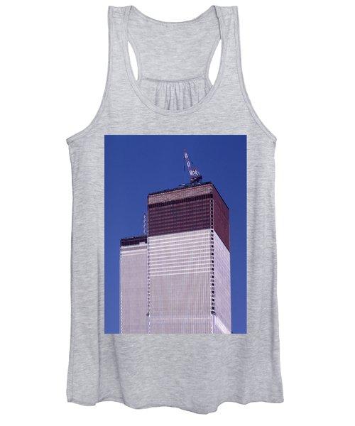 World Trade Center Under Construction Women's Tank Top