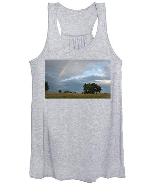 Wyoming Rainbow Women's Tank Top