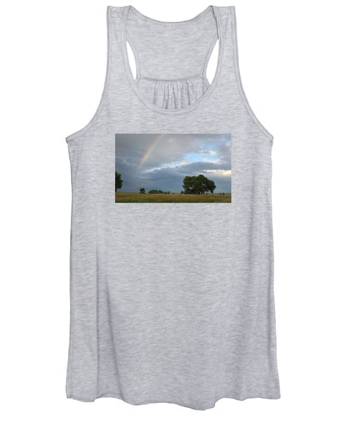 Wyoming Rainbow Women's Tank Top