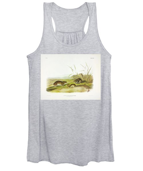 Yellow-cheeked Meadow-mouse Women's Tank Top