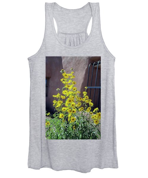 Yellow Composites At Ghost Ranch  Women's Tank Top
